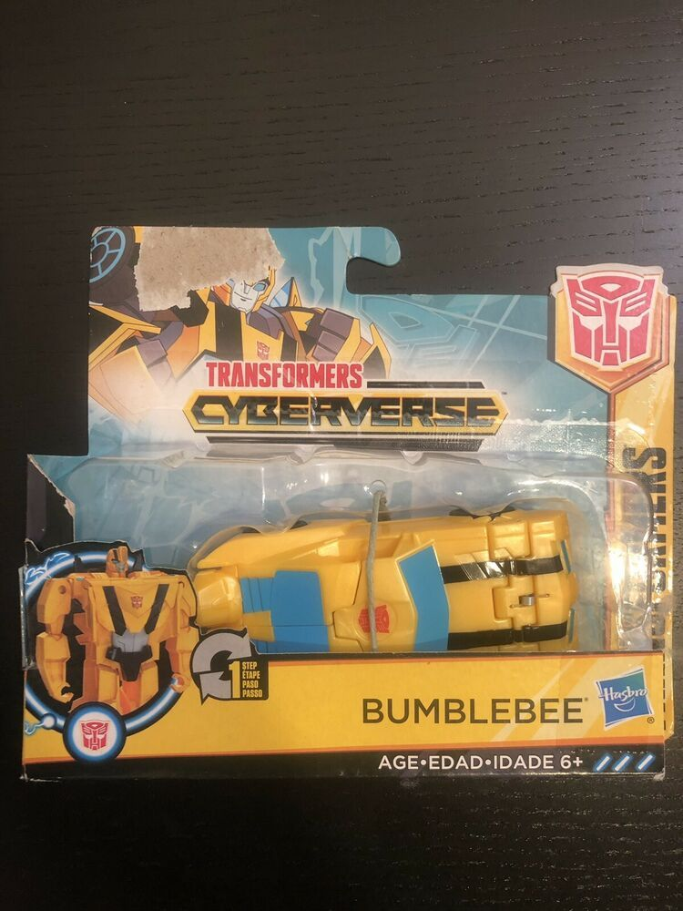 Sealed. One Step Transformers CYBERVERSE BUMBLEBEE by Hasbro Ages 6+ New