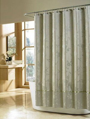 Tips On Using Cloth Shower Curtains Dus Perdeleri Banyo Fikirleri