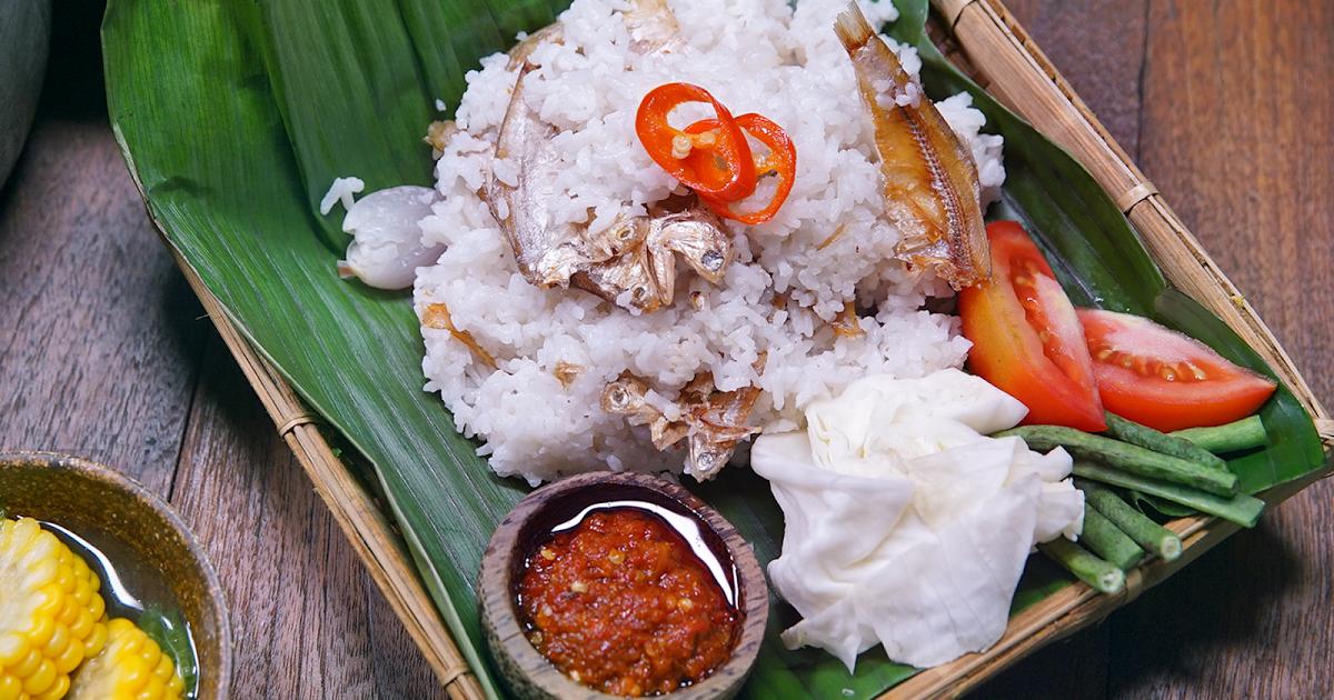 Resep Nasi Liwet Khas Sunda Resep Masakan Asia Makanan Dan Minuman Makanan