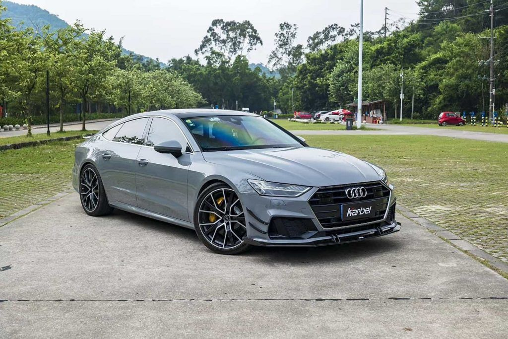 Karbel Releases New Aero Parts For The Audi A7 Maxtuncars Audi A7 Audi Car Tuning