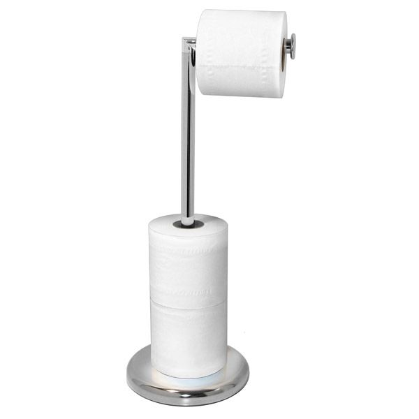 Toilet roll stand google search bathroom accessories for Bathroom accessories stand