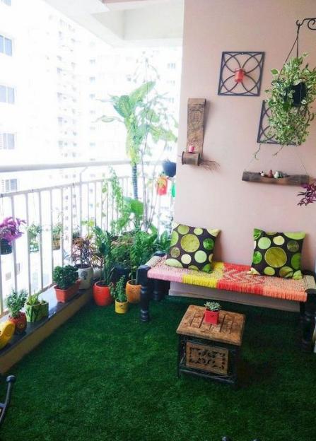 20 Simple And Beautifull Balcony Decoration Ideas Eweddingmag Com Terrace Decor Home Garden Design Apartment Balcony Decorating