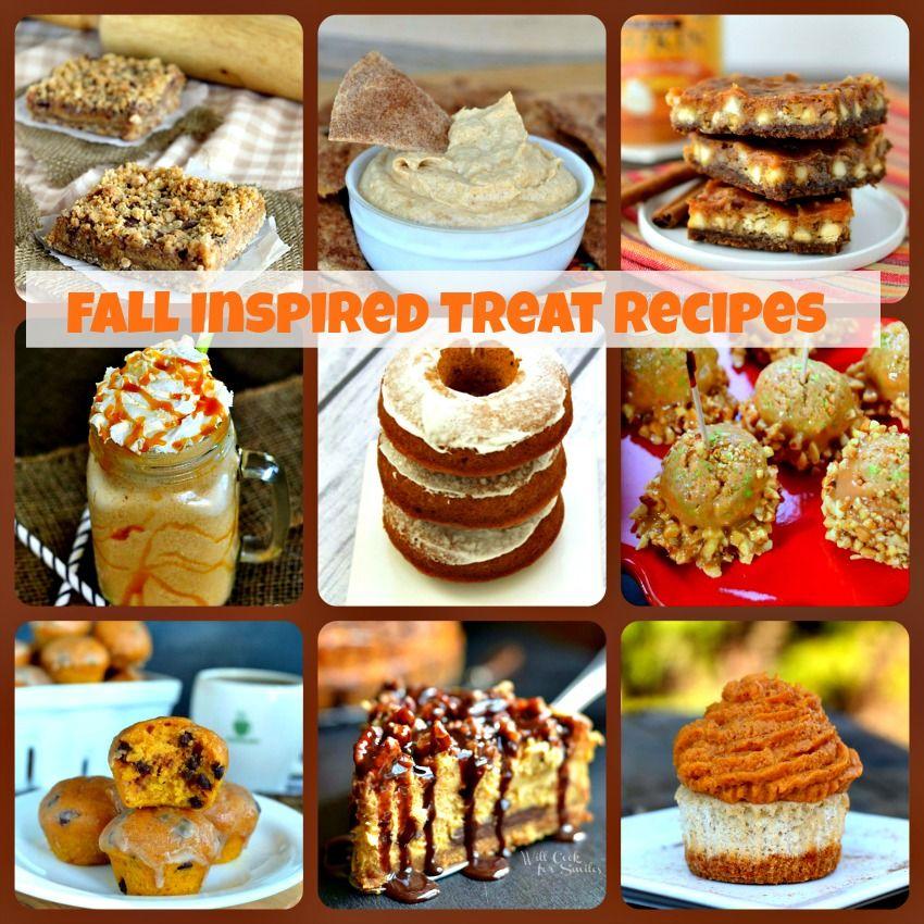 Fall Inspired Treat Recipes