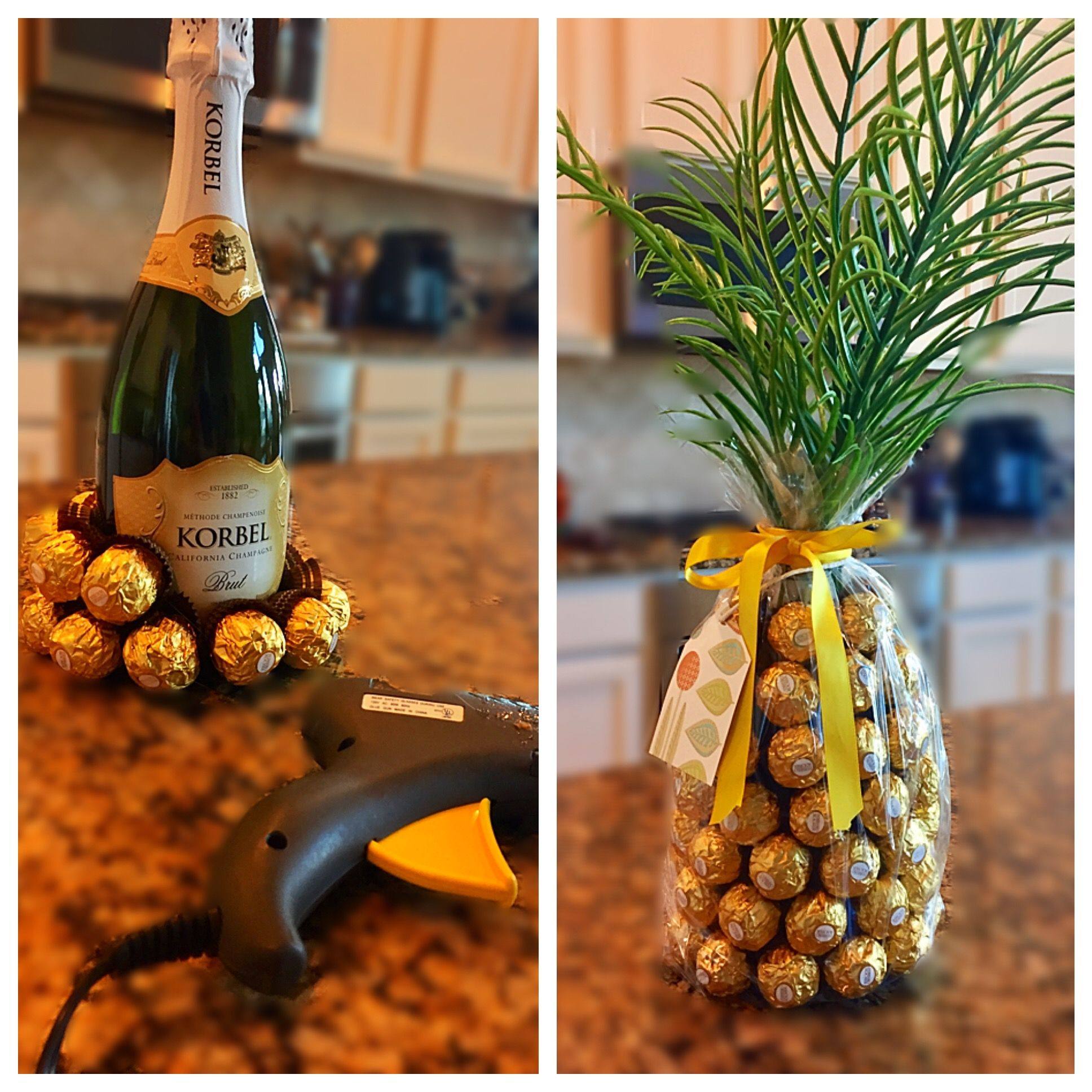 Ferrero Rocher & Champagne Pineapple Gift Pineapple gifts
