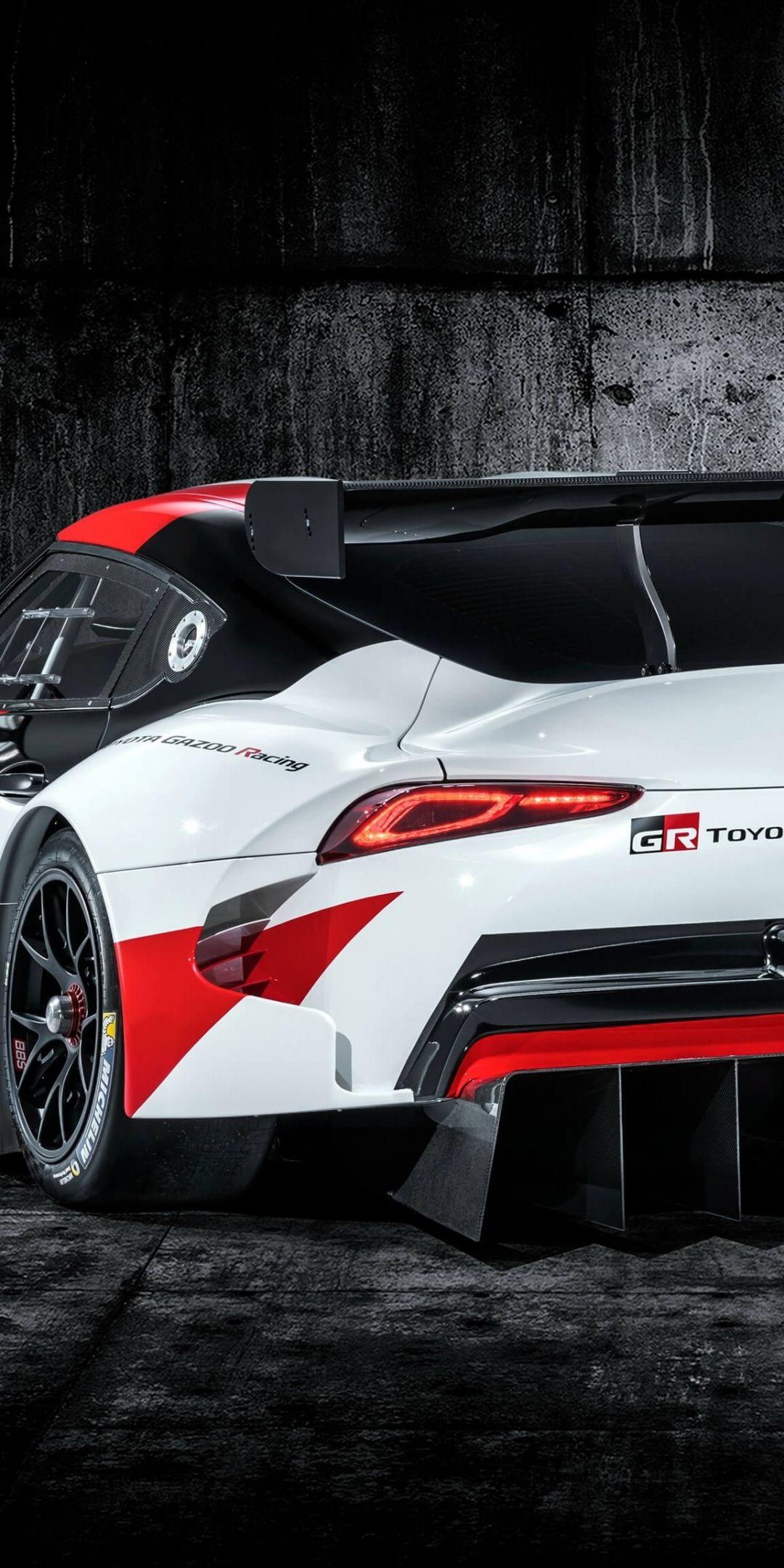 Toyota Gr Supra Sports Car Rear 2019 1080x2160 Wallpaper Sports Car Toyota Car