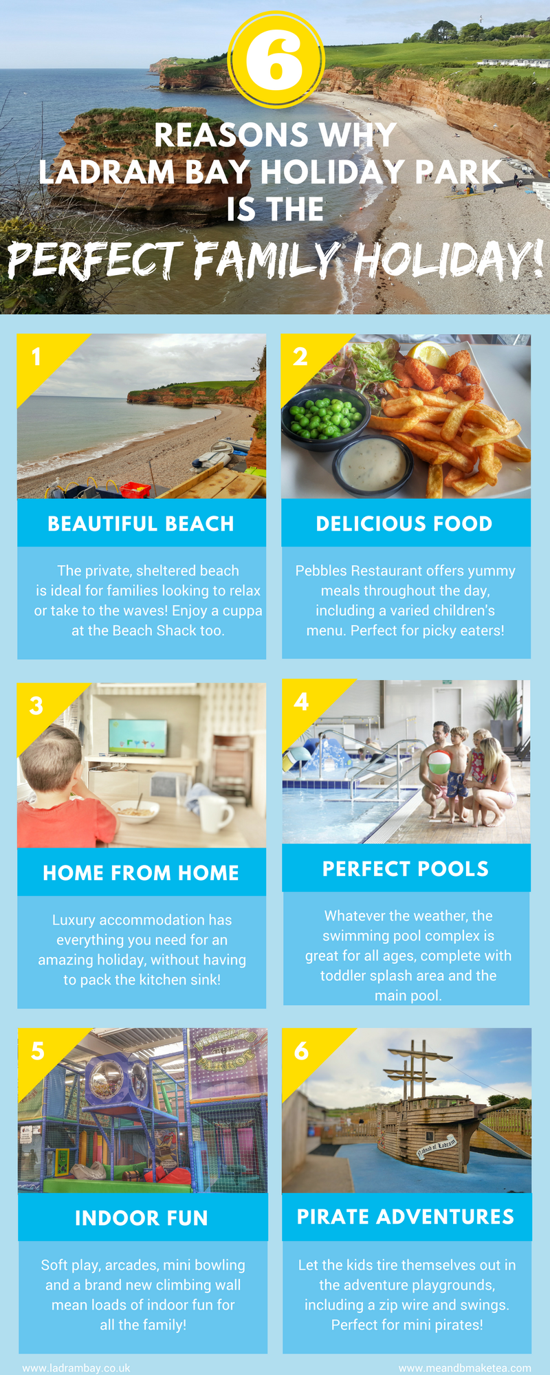 8 Reasons Why Ladram Bay Holiday Park in Devon is Perfect for ...