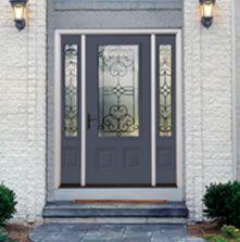 Impact Resistant Glass Garage Door
