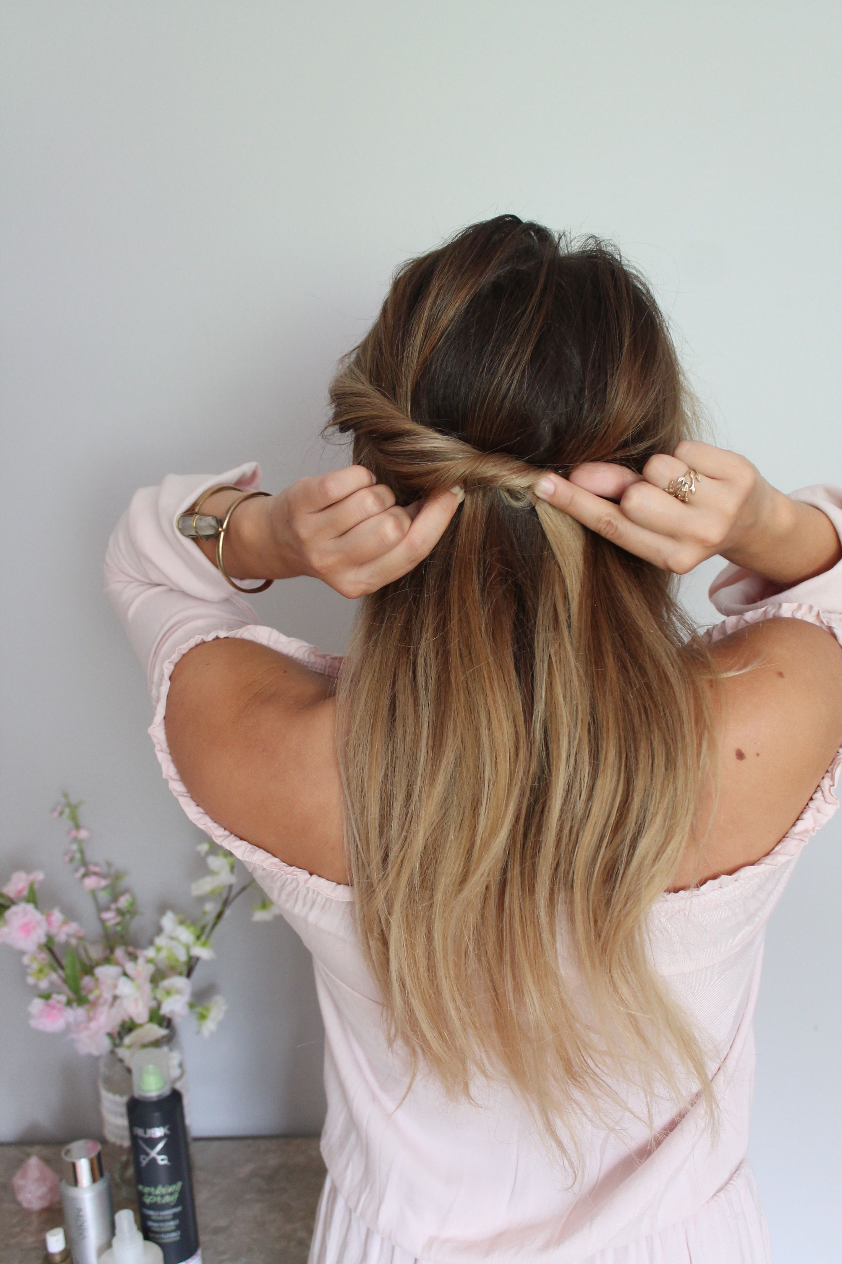 DIY Easy Hairstyles That Won't Damage Your Hair! – Muah by Alexandria