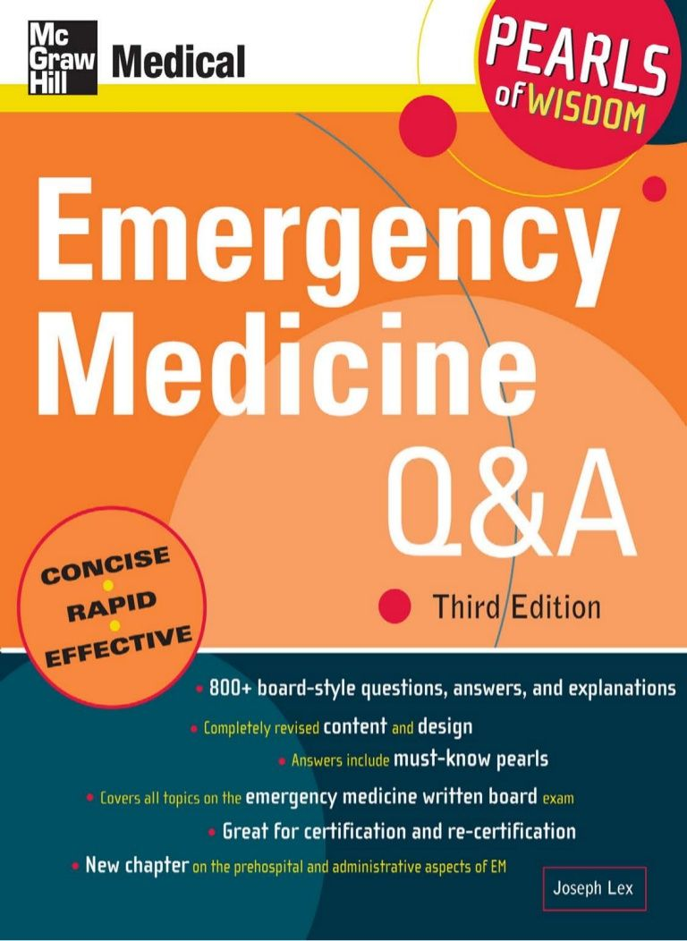 emergencymedicineqampa3rdeditionpearlsofwisdom by Hassan