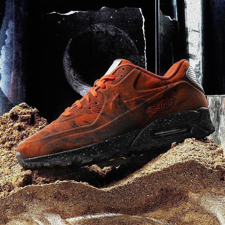 "free shipping 94ae2 989af Releasing Saturday, March 16th is the Nike ""Mars Landing"" Air Max 90 QS.  Due to the limited quantity these will release through a locals…"