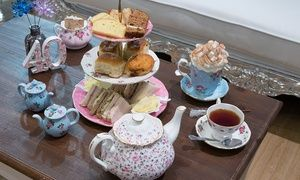 Groupon   Traditional Afternoon Tea With An Optional Prosecco At The Tea  Terrace At House Of