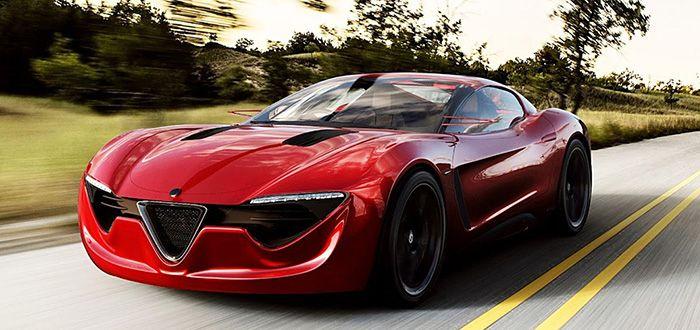 2018 Alfa Romeo 4c Spider Concept