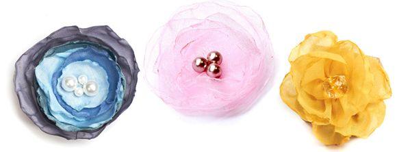 alessas blog diy stoffblumen selber machen perlchen. Black Bedroom Furniture Sets. Home Design Ideas