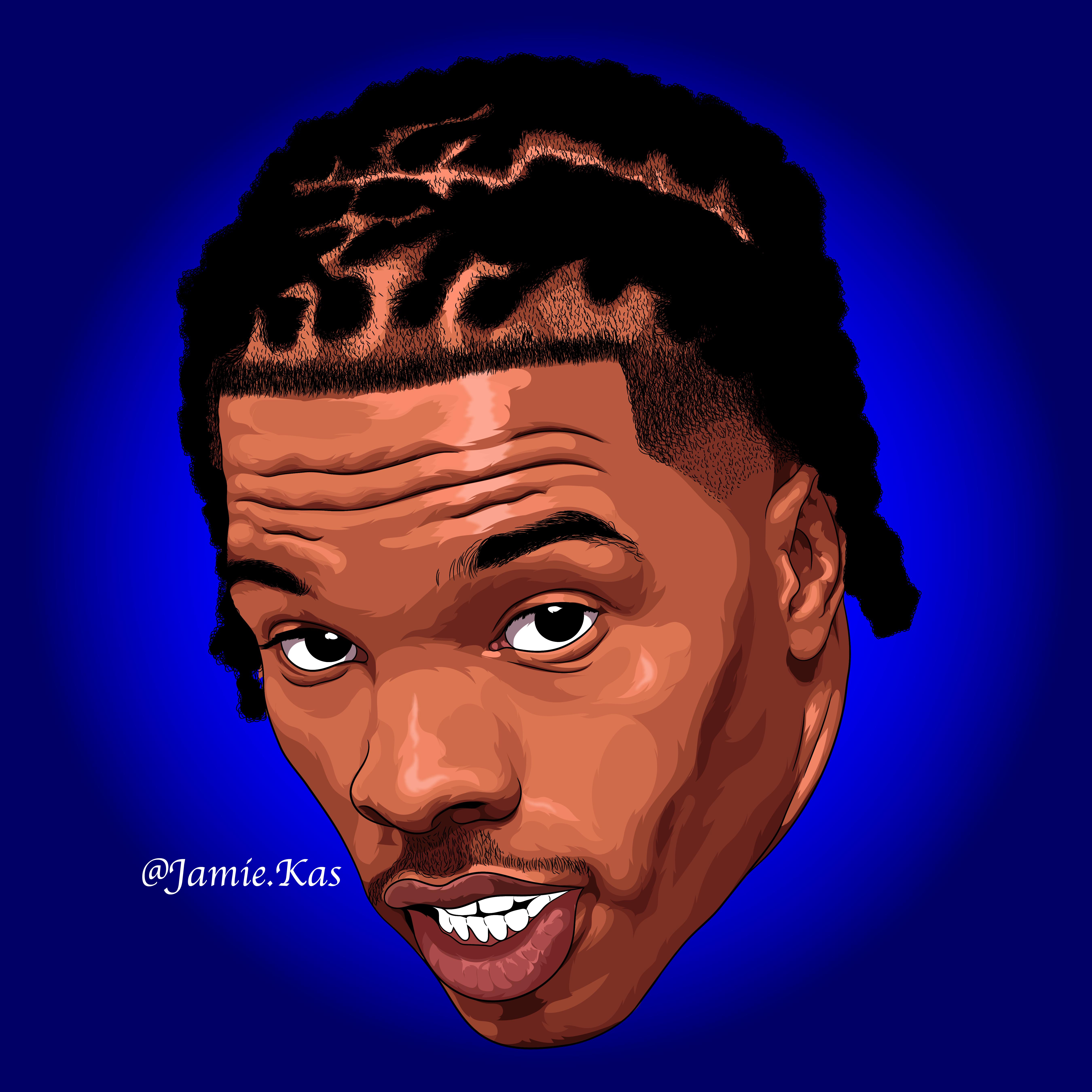 Lil Baby Speedart Rapper Art Hip Hop Artwork Art