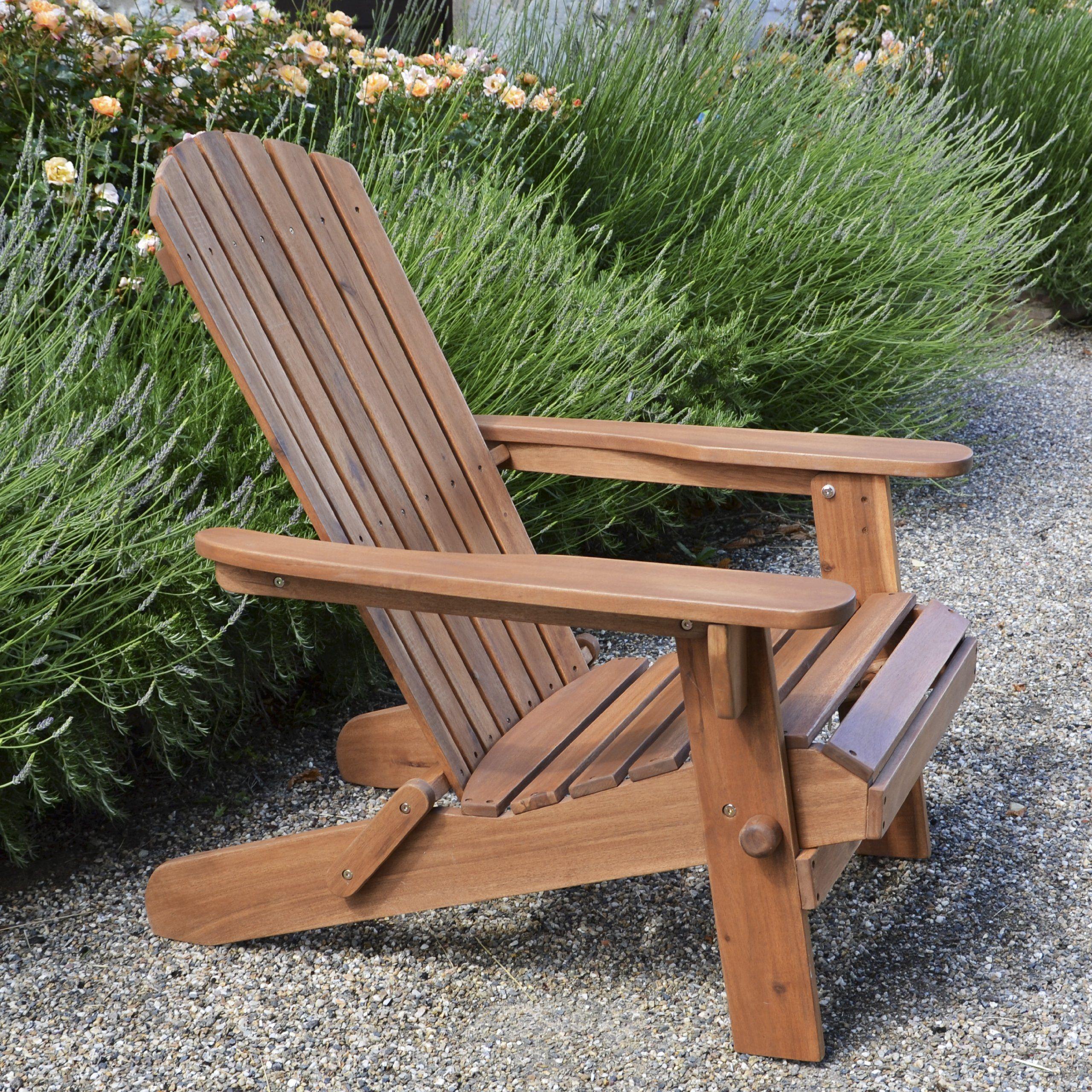 Plant Theatre Adirondack Folding Hardwood Chair Superb Quality