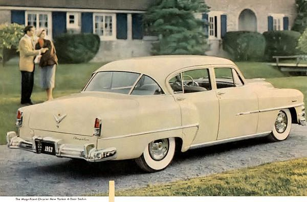 1953 Studebaker Wagon | 1953 Chrysler New Yorker Sedan