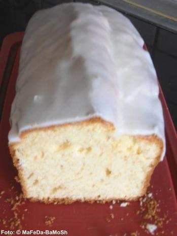 Zitronen-Buttermilch-Kuchen - Rezept mit Bild - kochbar.de