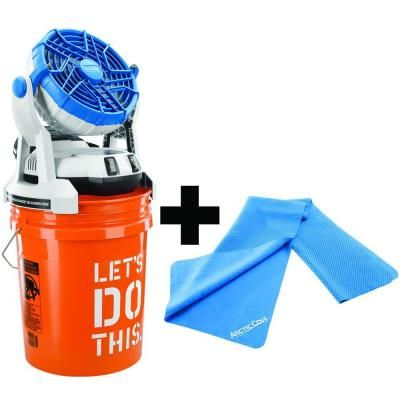 Special Buy Of The Day At The Home Depot Misting Fan Bucket Cooler Misting