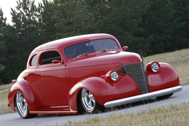 sweet little '39 Chevy coupe by joshkaylor, via Flickr