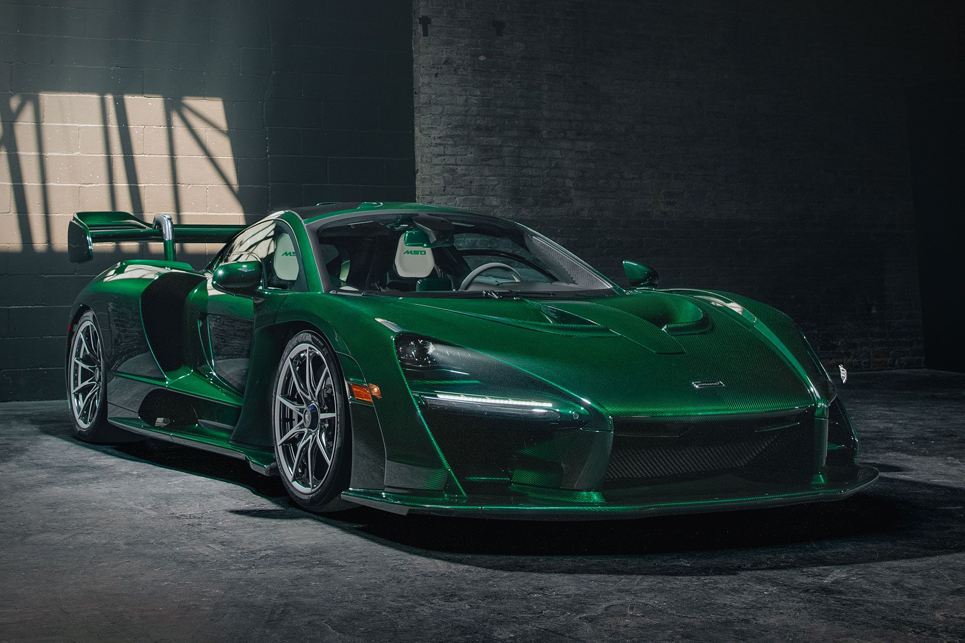 First North American Mclaren Senna Mclaren Senna Car