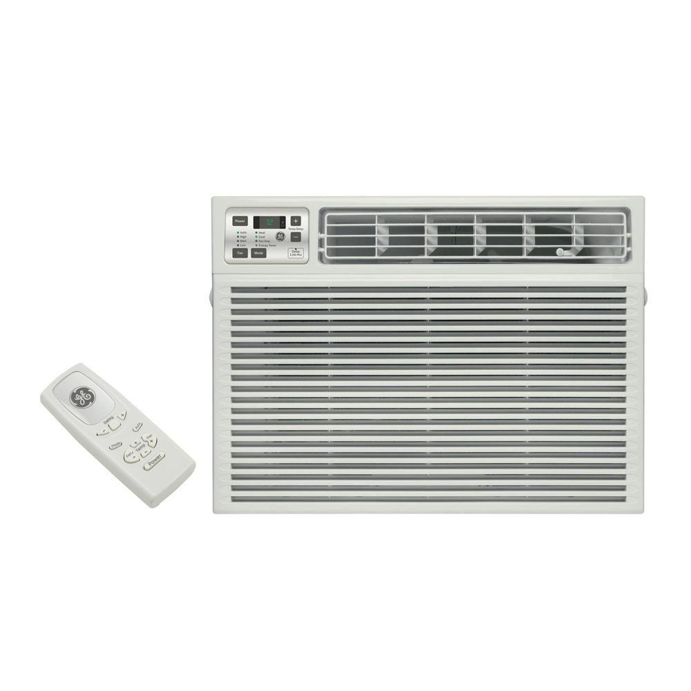 Ge 24 000 Btu 230 Volt Electronic Heat Cool Room Window Air