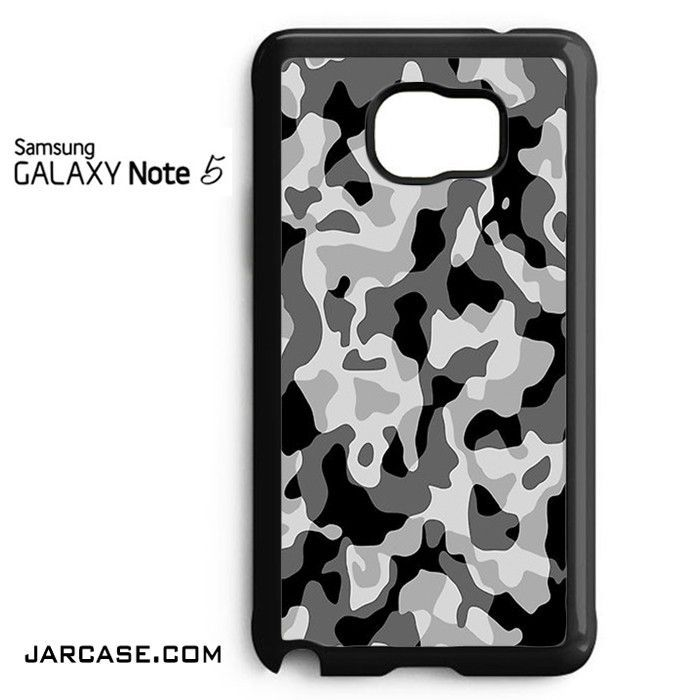 Black Camouflage Phone case for samsung galaxy note 5 and another devices
