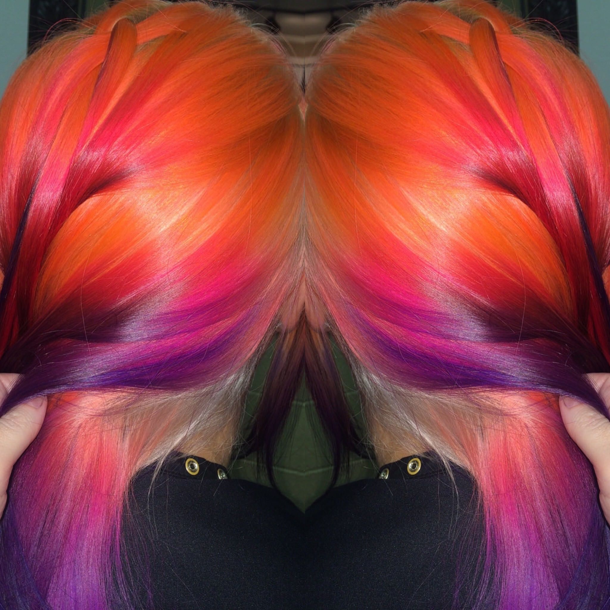 Outrageousrainbows light hair ursula and northern lights