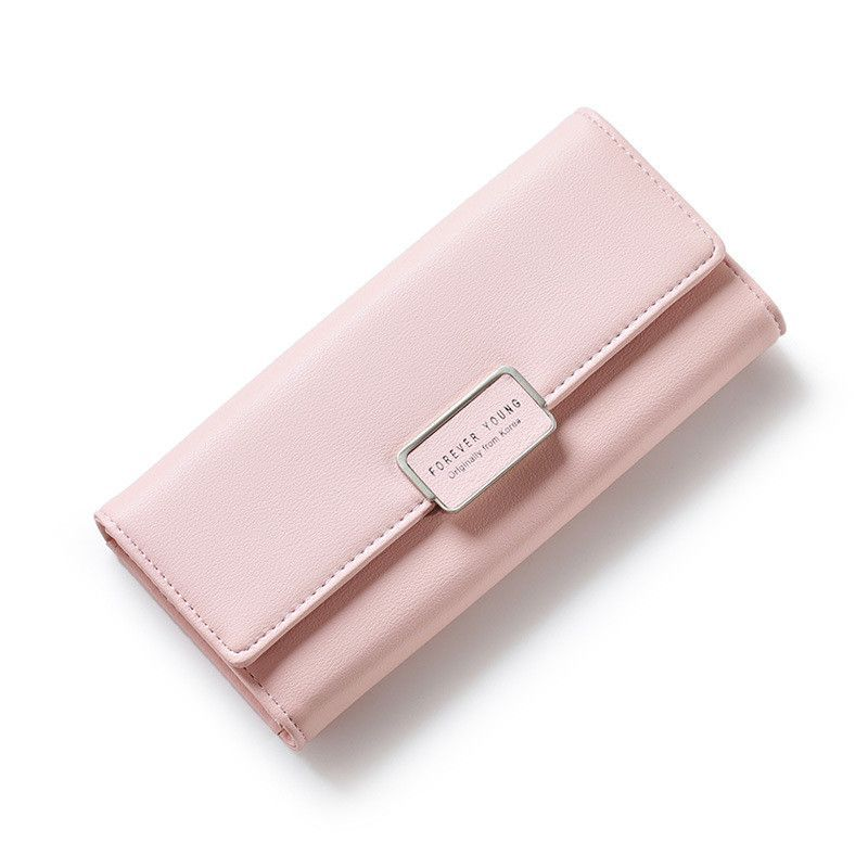79d308bf Women Leather Wallet Portable Multifunction Long Solid | my list ...