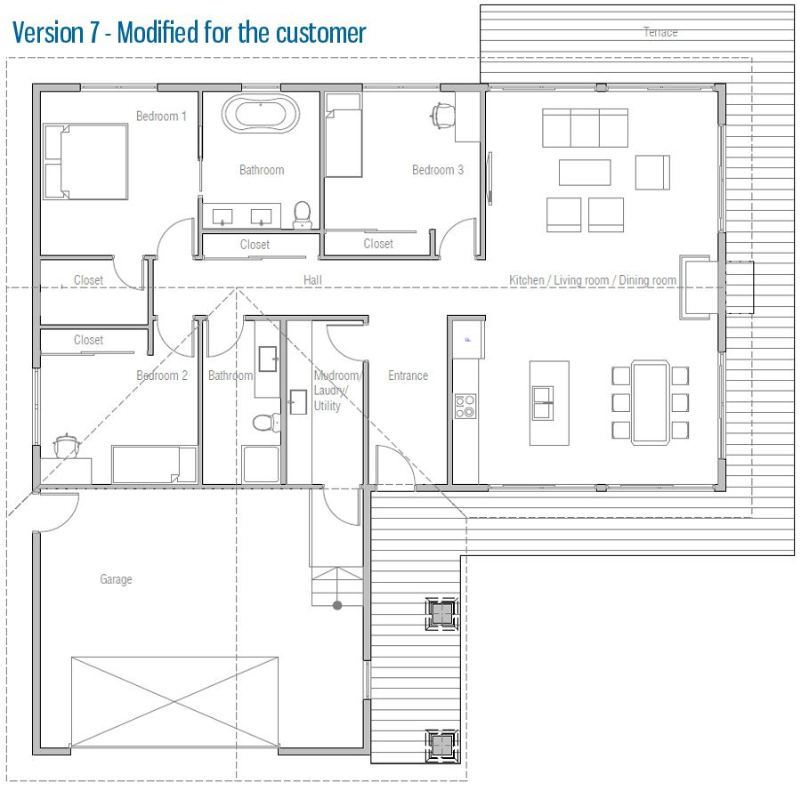 Great House Design Small House Ch232 40