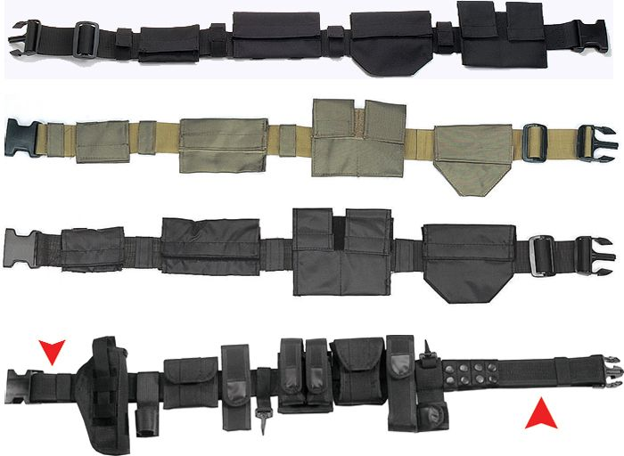 Army Military SWAT Police Duty Belts Mens Womens | eBay