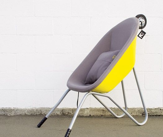 Marvelous Wheelbarrow Seat | Architecture U0026 Design Amazing Pictures