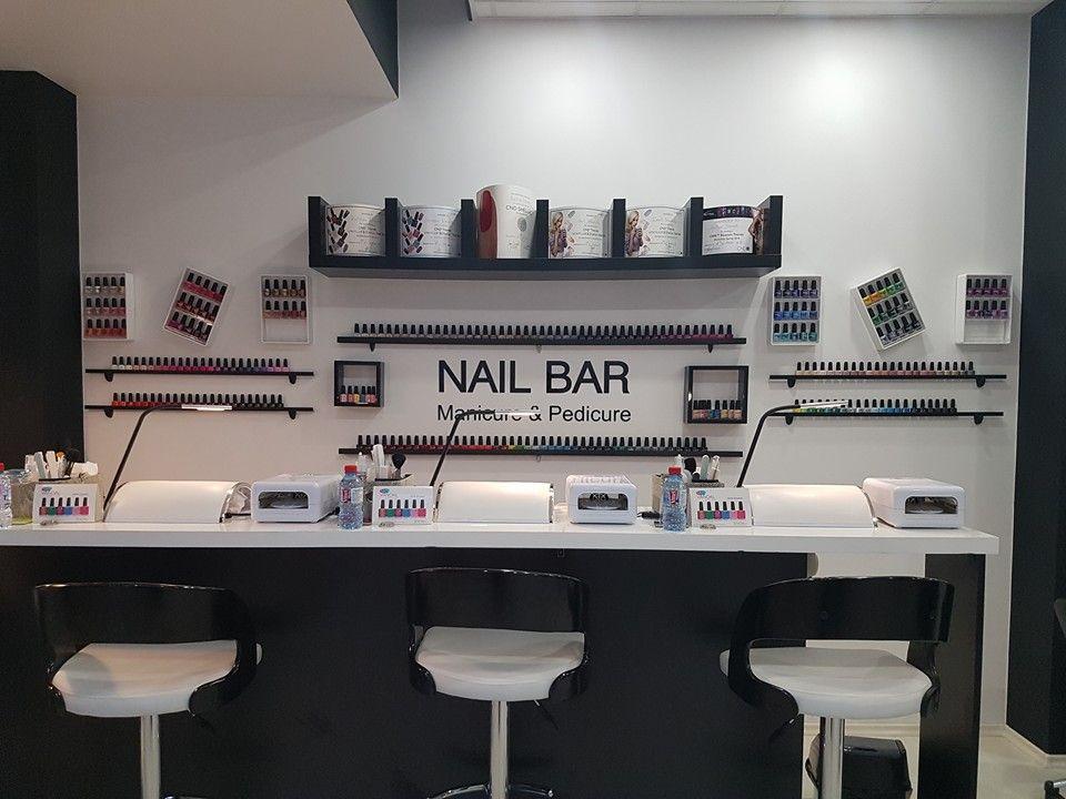 Small Nail Bar For Small Stores Pure Style Max Work Contact Us For More Nail Salon Decor Nail Salon Design Beauty Salon Decor