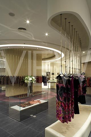 ladies boutique interiors HARVEY NICHOLS DEPARTMENT STORE INTERIOR