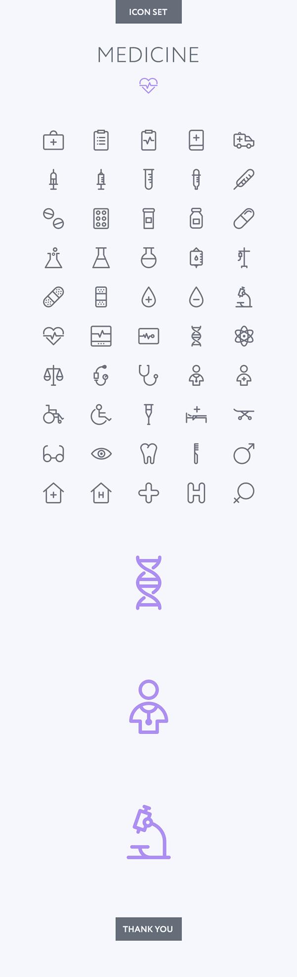 Medical icon set on Behance