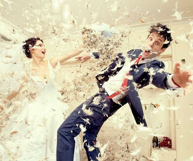 Craziest Wedding Ever: 20 Of The Most Hilarious (and Clever) Wedding Photos I