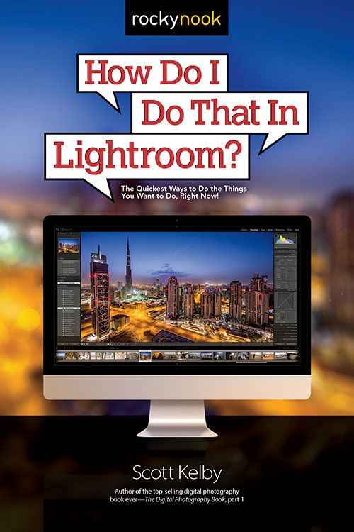 Scout book tutorial for lightroom