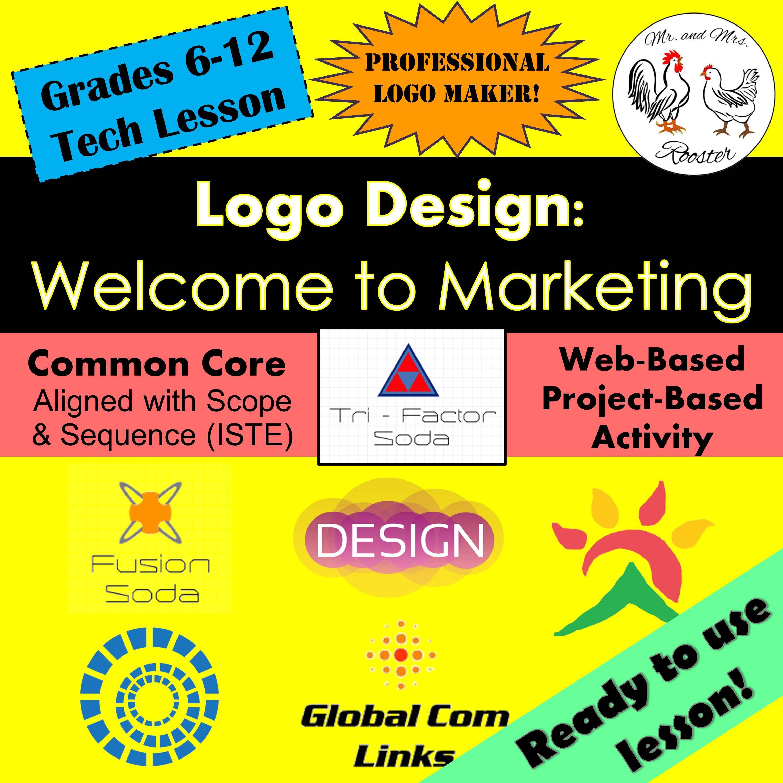 Tech Lesson Logo Design to Marketing