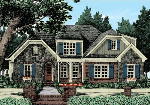 Sugar Hill Home Plans and House Plans by Frank Betz Associates