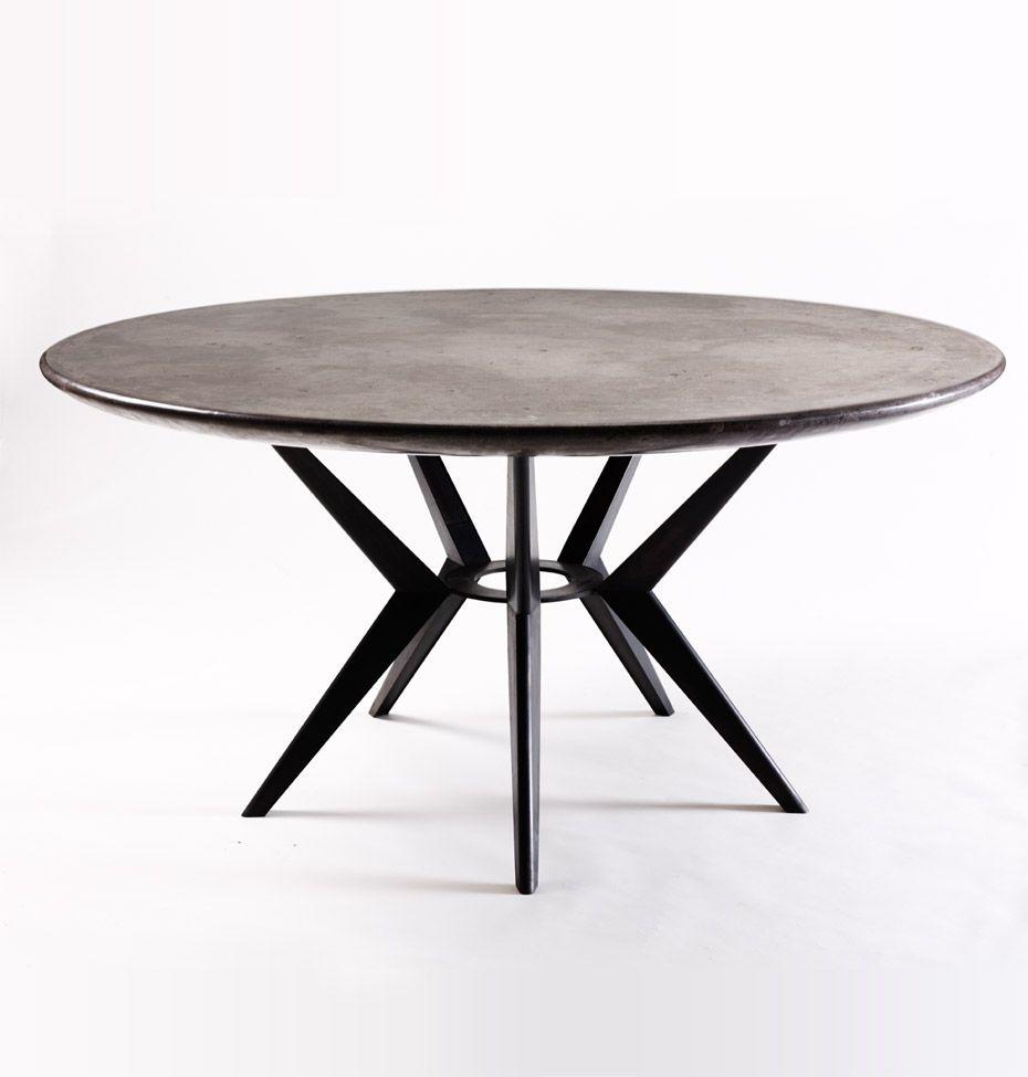 Spyder dining table furniture pinterest runder for Runde esszimmertische modern