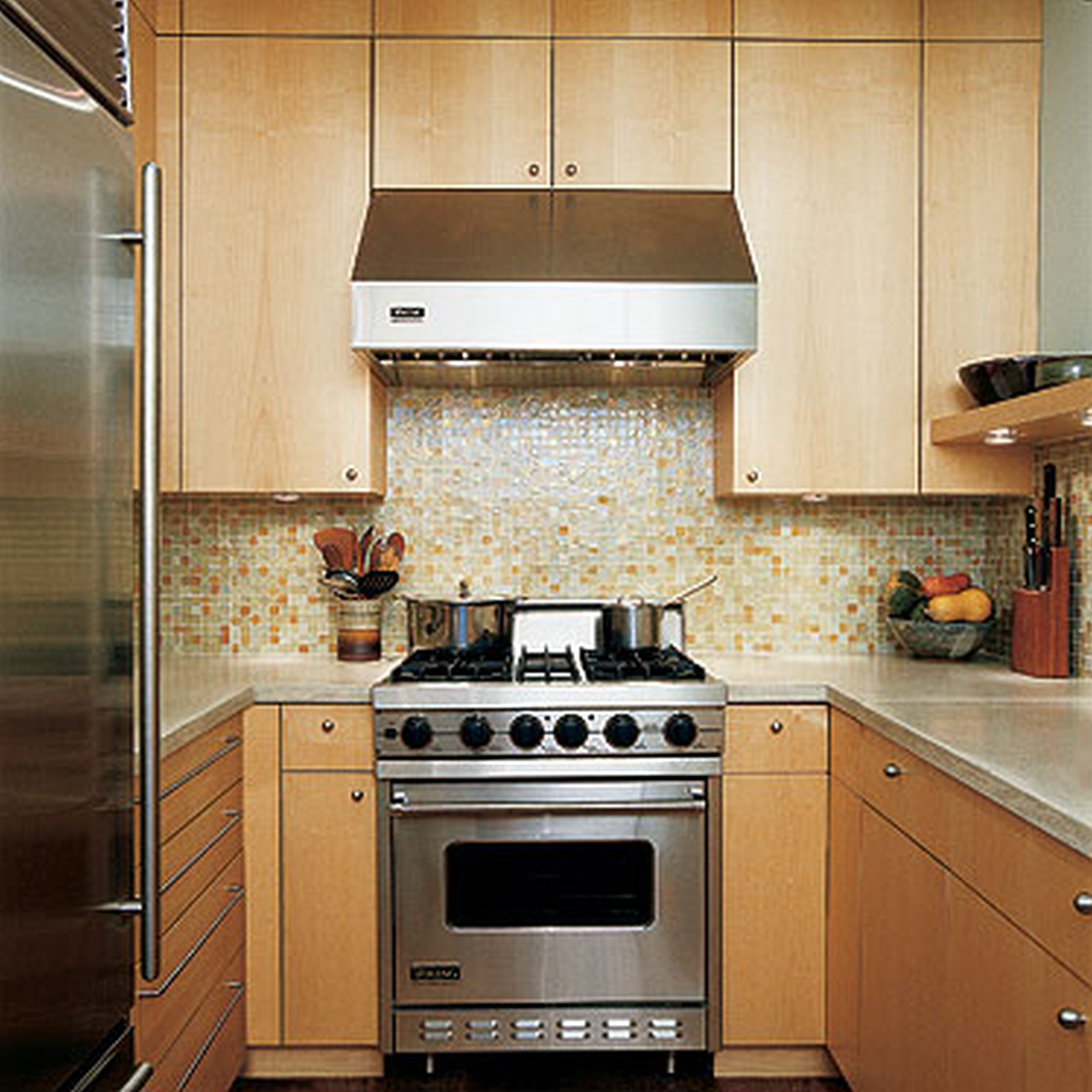 narrow u shaped kitchen Google Search Kitchen ideas