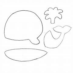 whale craft template animal masks whale crafts animal masks