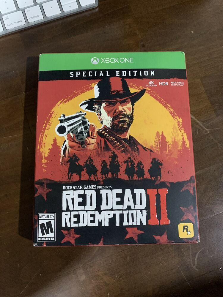 Red Dead Redemption 2 Special Edition Microsoft Xbox One 2018 Reddeadredemption Gaming Xboxone League Of Legends Game Red Dead Redemption Xbox One
