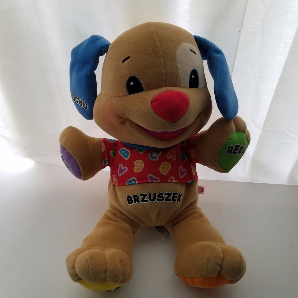 Fisher Price Laugh And Learn Boy Puppy Dog Toy Polish Language