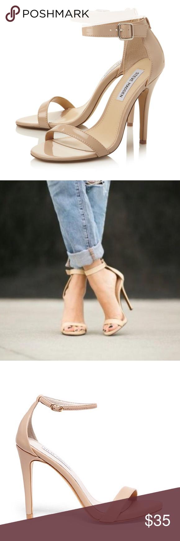 94cdecc32fe Steve Madden Blush Patent Heels These Steve Madden Realove sandal ...