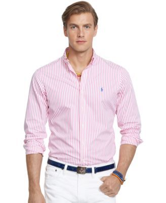 8790dd3dc9 Polo Ralph Lauren Striped Poplin Shirt