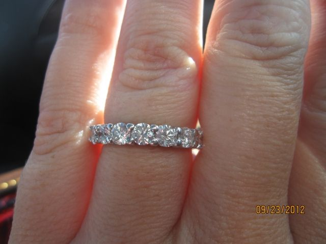 15 Pointer Or 20 Pointer Eternity Band By Gemmy123 Eternity Bands Eternity Band Diamond Eternity Ring