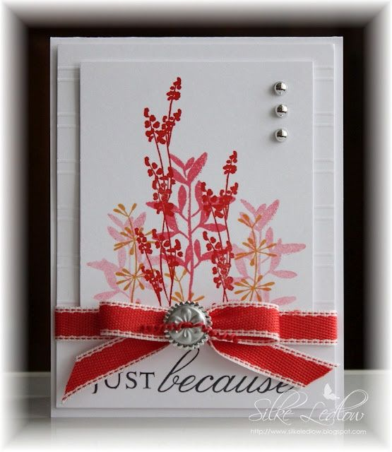 Rubber Stamp Card Making Ideas Part - 40: Hand Stamped Cards | Love It! | Hand Stamped Card Ideas