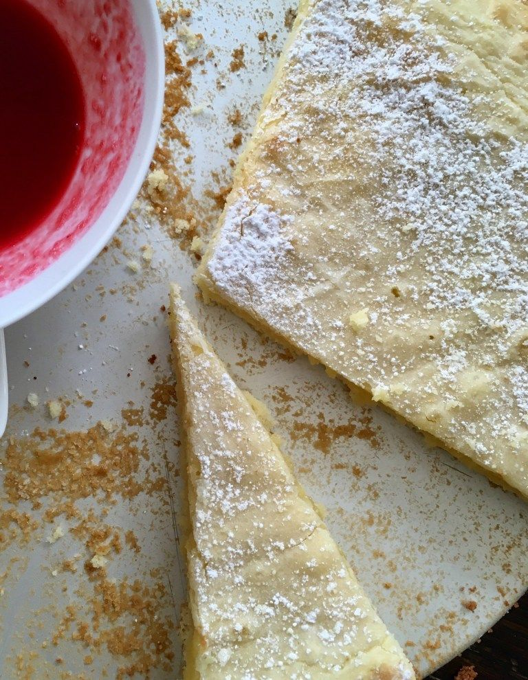 Weißer Kladdkaka – Rezept für Schokokuchen mit weißer Schokolade