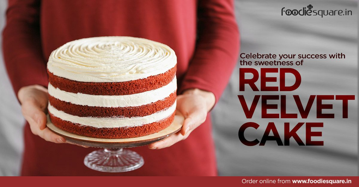 Celebrate your success with the sweetness of red velvet
