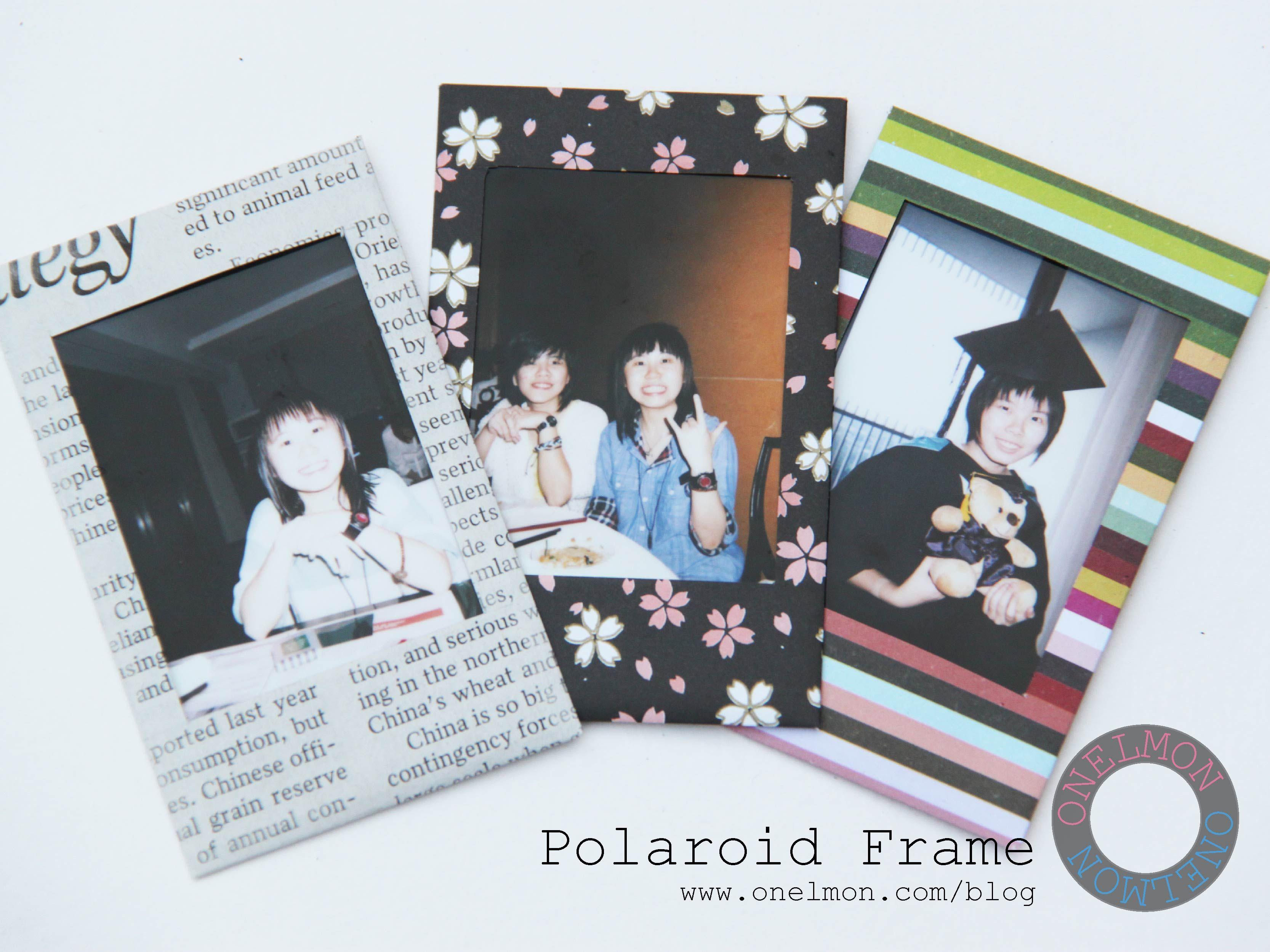 DIY Polaroid Frame | ~ DIY ~ | Pinterest